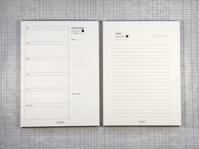 Etiket Notepad Large - 2