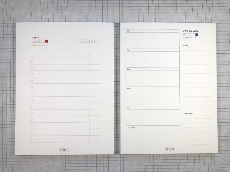 Etiket Notepad Large - 1