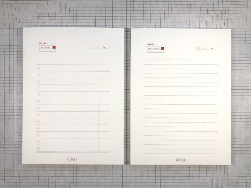 Etiket Notepad Large - 3