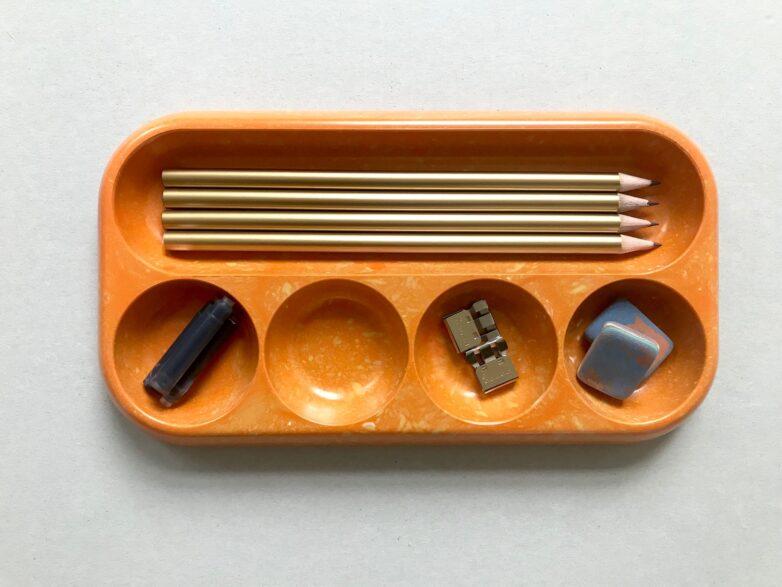 Bakelite Tray in original 60`s orange