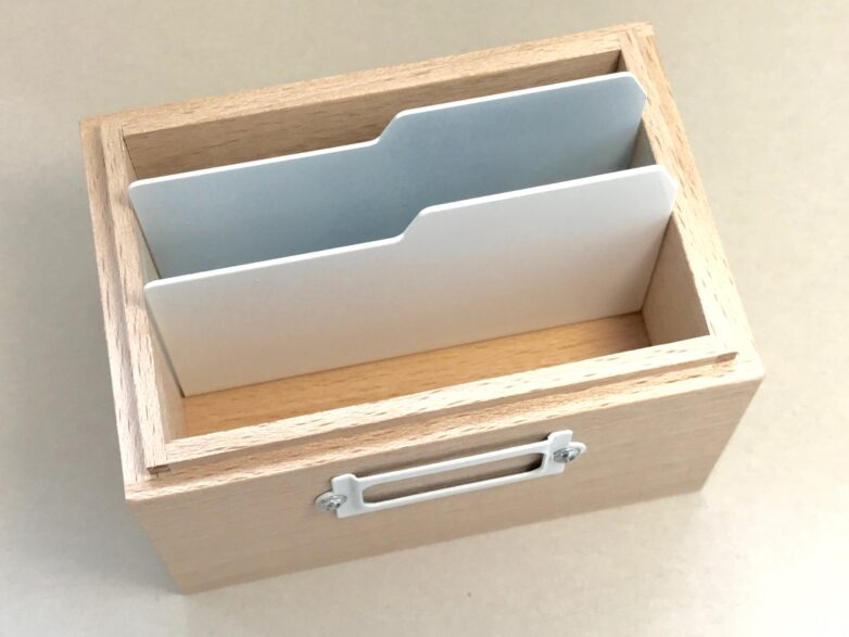 Card Box from above