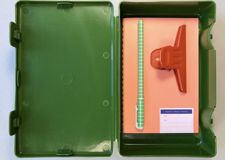 Storage Container green open