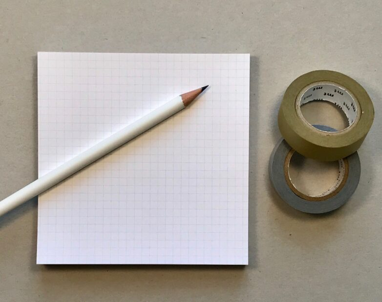 Grid Pad with Pencil