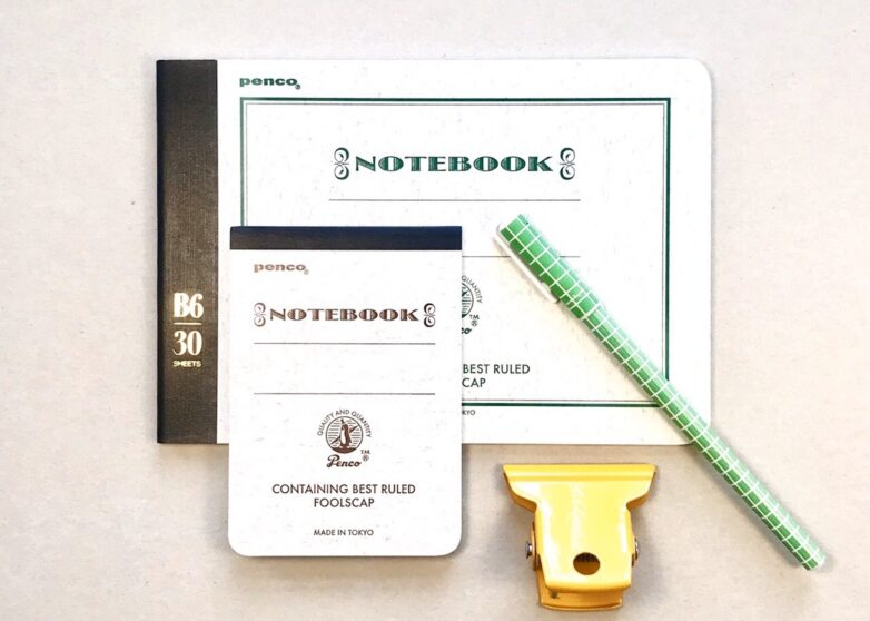 Japanese Notebook in B6 and B7