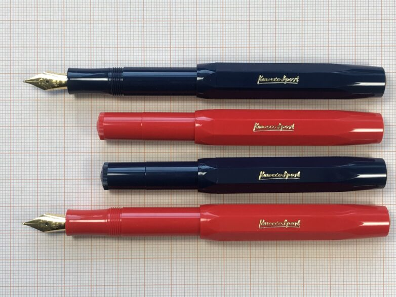 Kaweco Fountain Pen red and blue