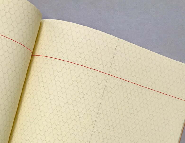 Large Notebook yellow inside