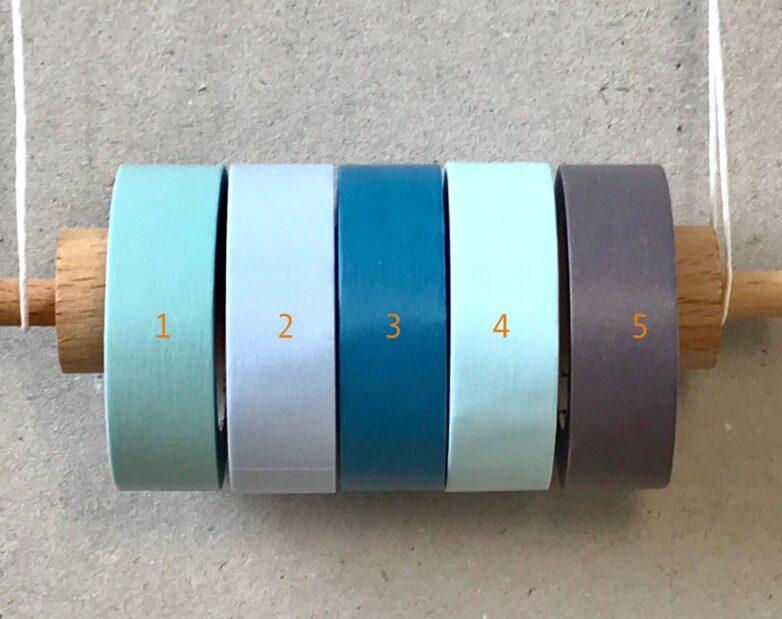 Masking Tape blue