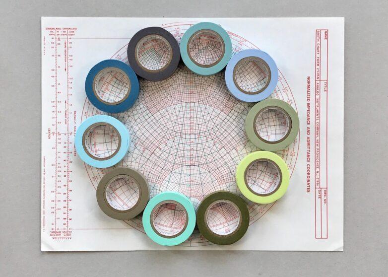 Masking Tape circle
