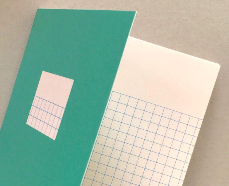 Mini Note green inside