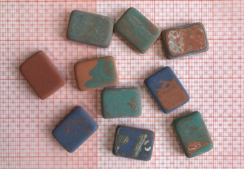 Eraser in different colours