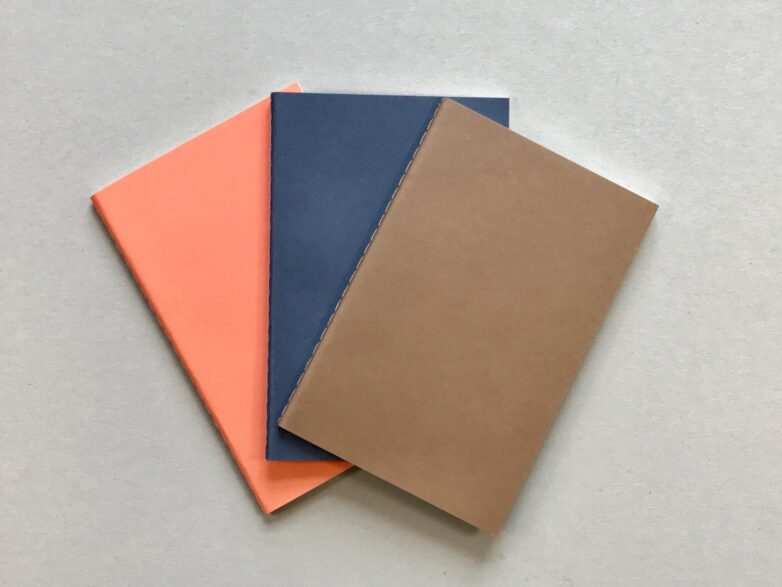 Minimal Planner coral, navy and brown
