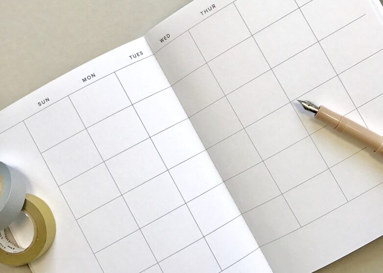 Monthly Planner inside