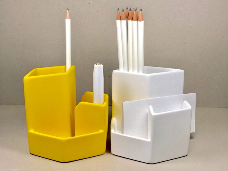 Multi Stand white and yellow