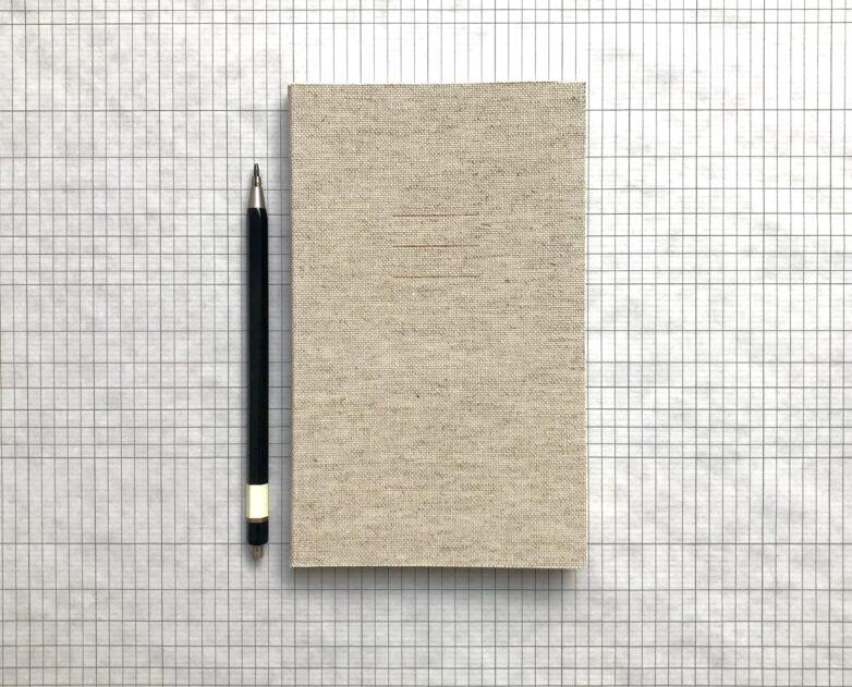 Notebook Linen natural