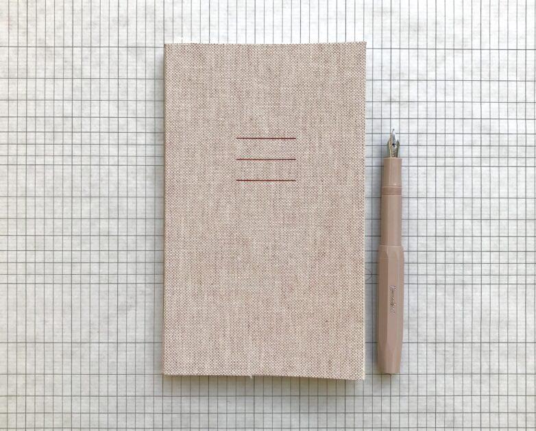 Notebook Linen rose
