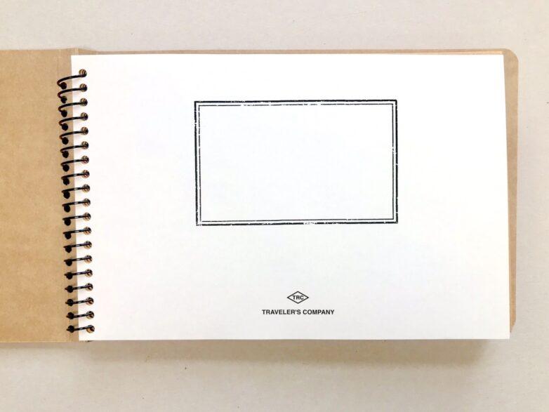 Notebook with envelopes inside