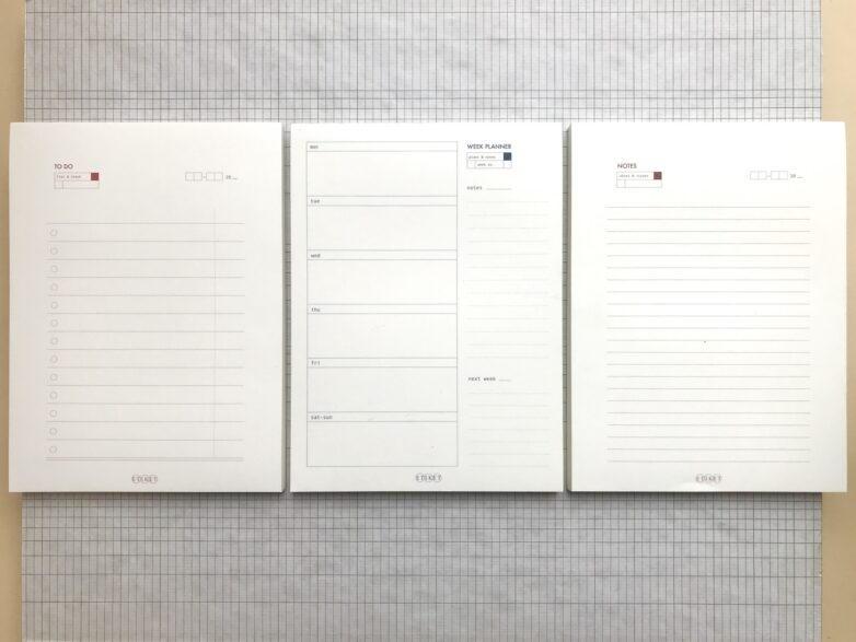 All large notepads
