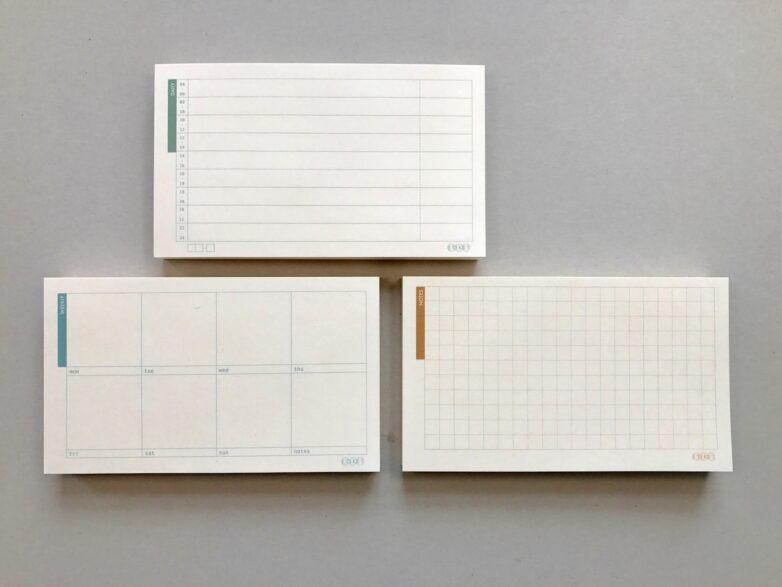 Notepad Small Notes, Daily, Weekly