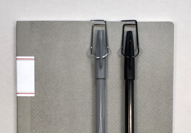 Pen Hook black and silver