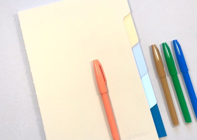 Tab Notebook with Sign Pen
