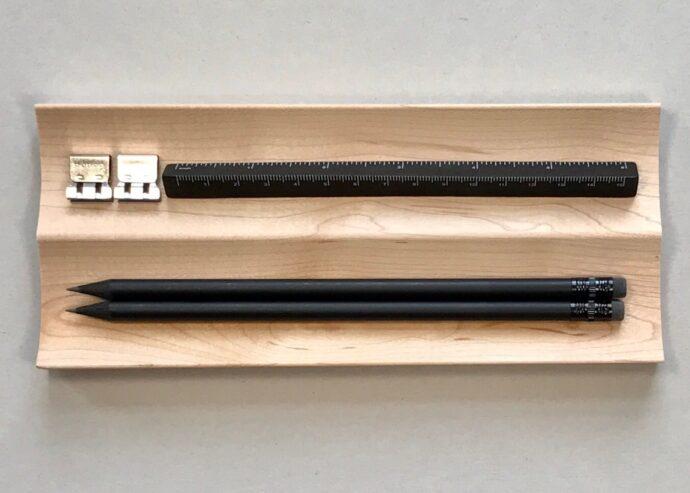 Wooden Pen Tray